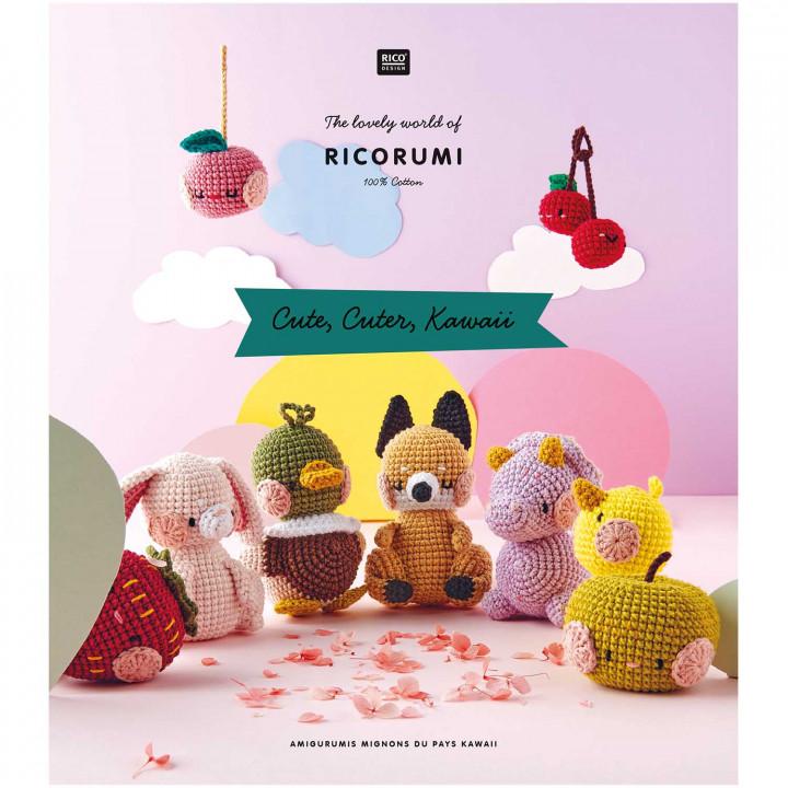 Livre Ricorumi - Cute, Cuter, Kawaii, Rico Design
