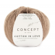 Coton égyptien et laine mérinos cotton in love - Katia