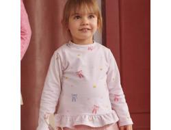 Tissu jersey - Ballerines Multicolores, Katia Fabrics