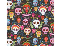 Tissu Michael Miller - Sugar Skulls