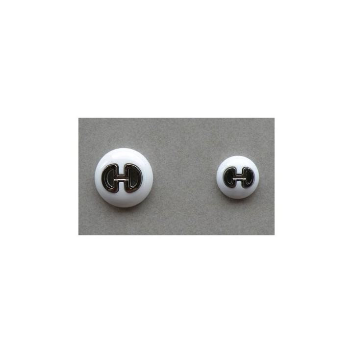 Bouton couture blanc