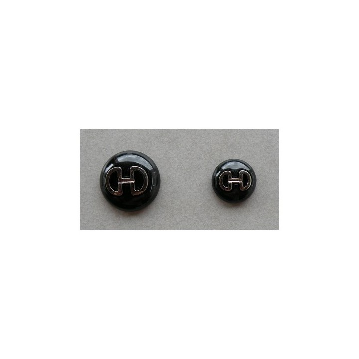 Bouton couture noir 18 eyt 25 mm