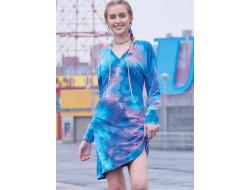 Robes en tricot à passer par la tête, à encolure en V et détail de cordons femme - Mc Call's M8107