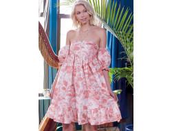 Robes froncée style empire à variations de longueur, d'encolure et de bretelles pour femme - Mc Call's M8108