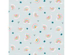 Tissu Dashwood - Rainbow friends