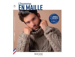 Livre L'homme en maille Bergère de France
