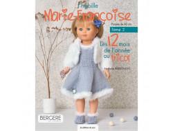 J'habille Marie-Françoise - 12 tenues au tricot Tome 2