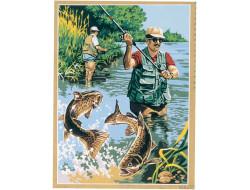 Canevas Carnet de pêche, Seg