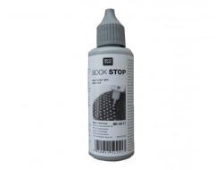 Latex antidérapant pour chaussettes gris