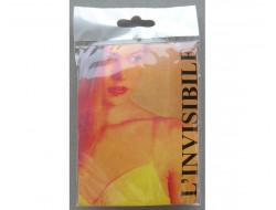 Bretelles soutien-gorge transparentes amovibles