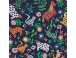 Tissu Liberty Fabrics Tana Lawn® Folk Tails