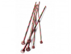 Aiguilles à tricoter bouleau rondes 40 cm - Du 3.50 mm au 8 mm