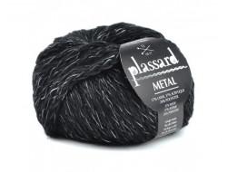Fil Métal de Plassard 37% de laine, 37% acrylique, 26% polyester
