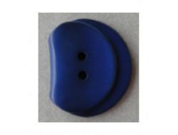 Bouton bleu roi foncé 35 mm