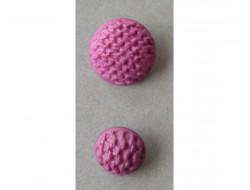 Bouton rose cyclamen 18 et 25 mm