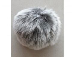 Pompon fausse fourrure - 10 cm