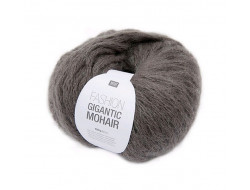 Fil Rico fashion Gigantic Mohair 40% Acrylique 30% Polyamide 30%(100 gr)