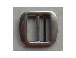 Boucle gilet 20 mm argent ou bronze