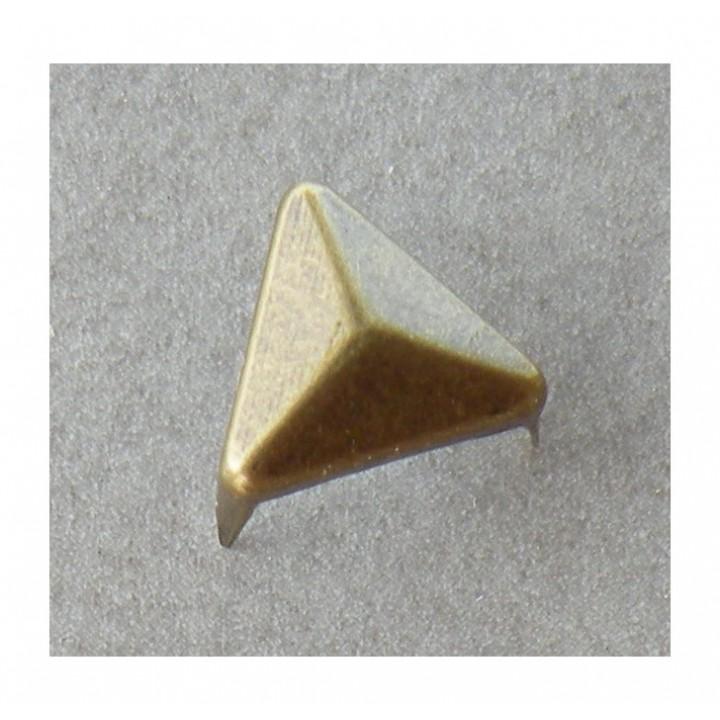 Clou à griffes triangle bronze