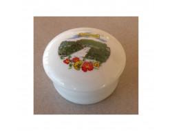 Boite pilulier porcelaine Castres
