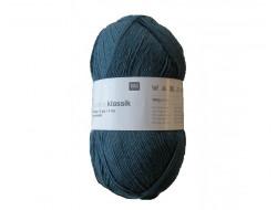 Laine Klassik superba, laine à chaussettes 75%  Laine vierge -  25% Polyamide