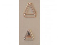 Accessoire métal pour bretelle, croisure, coulissant