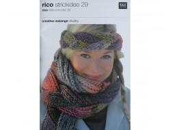 Idée à tricoter N°29 - Laine creative mélange Chunky