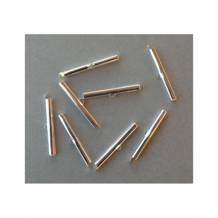 Embout griffe, fermoir extrémités ruban 40 mm