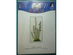 kit broderie, Cactus