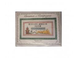 Kit broderie, Printemps en Chine