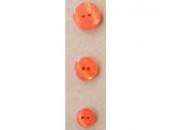 Bouton orange petites fleurs
