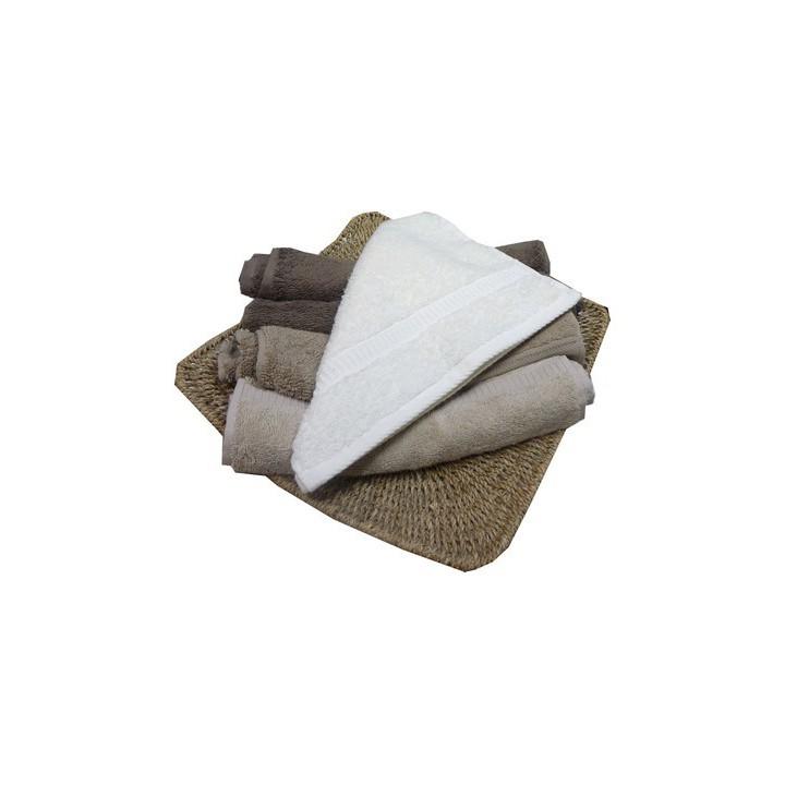 serviette invit essuie mains 30x50 mercerie floriane. Black Bedroom Furniture Sets. Home Design Ideas