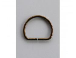 Demi anneaux bronze 20 mm