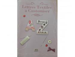 Leaflet DMC Lettres textiles à customiser
