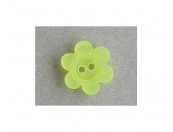 Bouton fleur fluo jaune