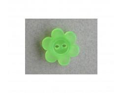 Bouton fleur fluo vert