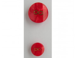 Bouton rouge haute couture