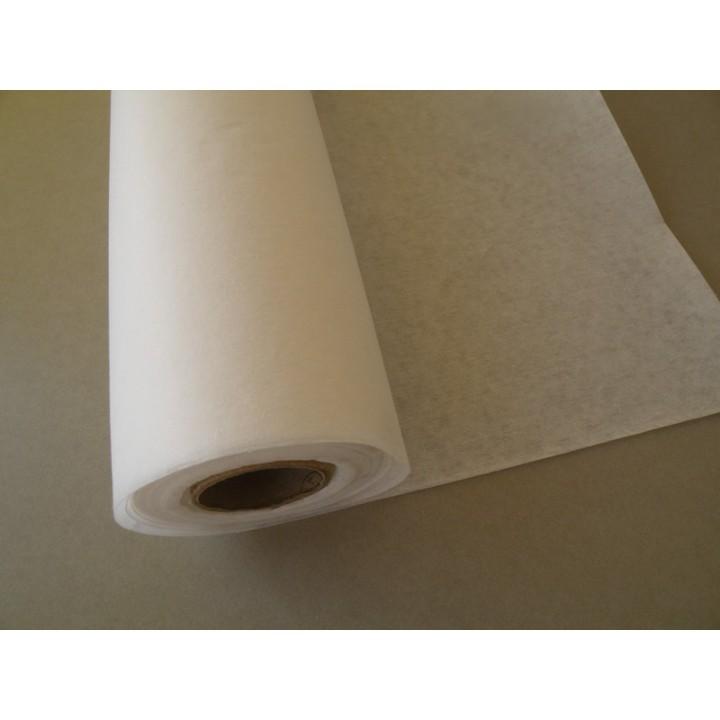 Nontissé thermocollant blanc en 90 cm, Mercerie Floriane