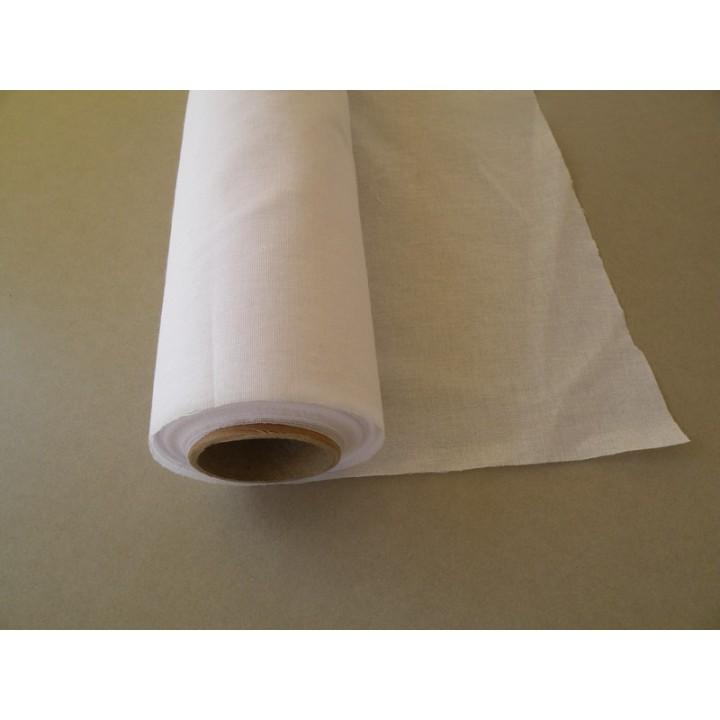 Entoilage percale thermocollant blanc
