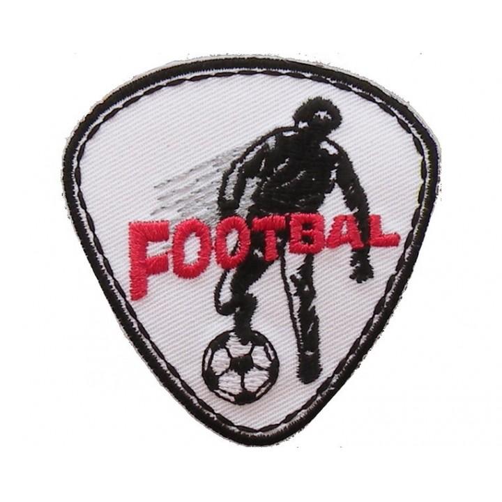 Ecusson thermocollant joueur de foot