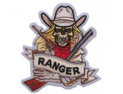 Ecusson thermocollant tête de mort Ranger
