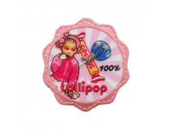 Ecusson thermocollant Lollipop bombons