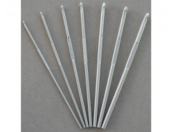 Crochet du 2 au 5 mm Aluminium 15 cm