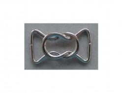 Boucle ceinture et bagagerie bord à bord métal 22 mm