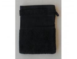 Gant de toilette Noir RICO