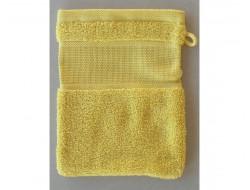 Gant de toilette Moutarde RICO