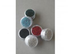 Perles de rocaille 2 mm