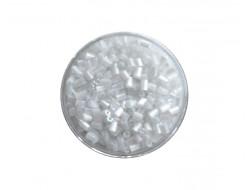 Perles de rocaille baguette 2 mm - Blanche