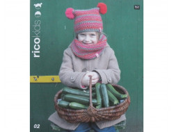Catalogue tricot Rico Kids, Laines Rico