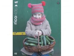 Catalogue tricot Rico Kids, Laines Rico